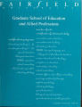 Graduate School of Education and Allied Professions - Course Catalog (1998-1999)