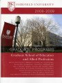 Graduate School of Education and Allied Professions - Course Catalog (2008-2009)