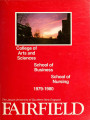 Undergraduate Course Catalog (1979-1980) - College of Arts and Sciences; School of Business;...