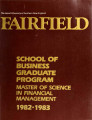 School of Business - Graduate Course Catalog (1982-1983)