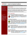 Center for Academic Excellence (CAE) Newsletter - Vol. 01, No. 02 - Spring 2011