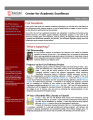 Center for Academic Excellence (CAE) Newsletter - Vol. 02, No. 01 - Fall 2011