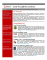 Center for Academic Excellence (CAE) Newsletter - Vol. 02, No. 02 - Spring 2012