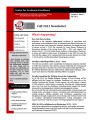 Center for Academic Excellence (CAE) Newsletter - Vol. 03, No. 01 - Fall 2012