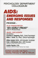 AIDS: Emerging issues and responses