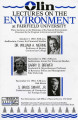 Three lectures on the dilemmas of the natural environment - 1987