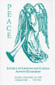 Peace: liturgy of lessons and carols - Advent Eucharist (1990)