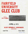 Fairfield University Glee Club 1973