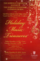 Holiday music treasures -- Fairfield University Glee Club