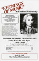 Evenings of music - Chamber Orchestra of New England
