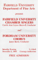 Fairfield University Chamber Singers and Fordham University Chorus