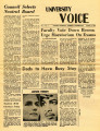 University Voice - Vol. 01, No. 02 - October 08, 1970