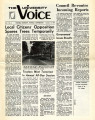 University Voice - Vol. 01, No. 03 - October 15, 1970